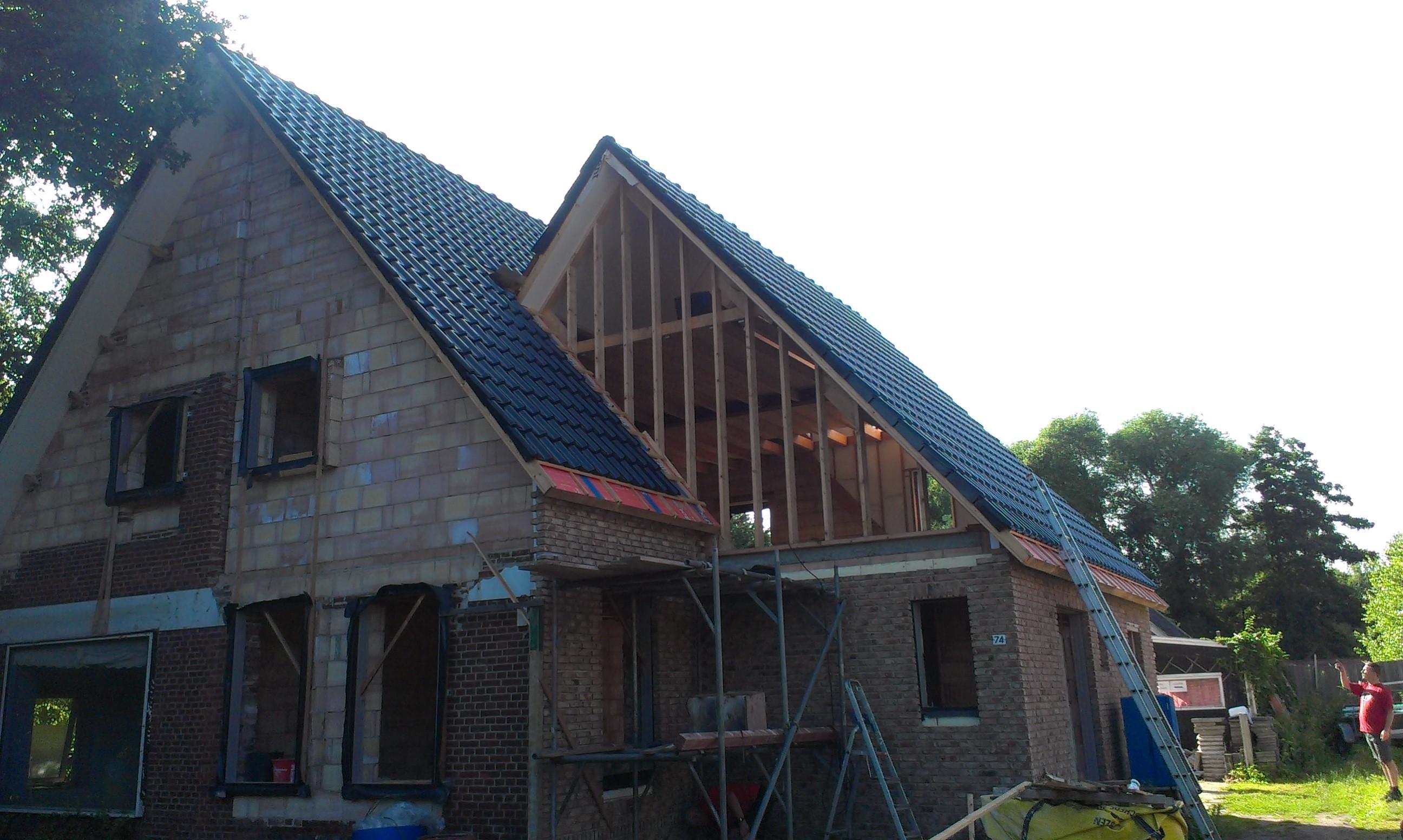 Projecten bouwservice van der vegt nieuwbouw verbouw renovatie - Oude huis renovatie ...